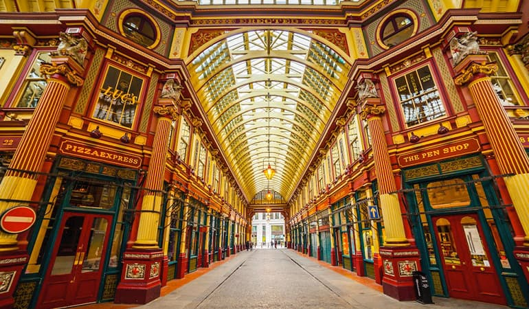 Mercado Leadenhall de Londres