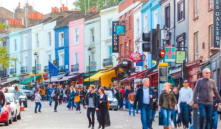 Notting Hill, barrio que ver en Londres