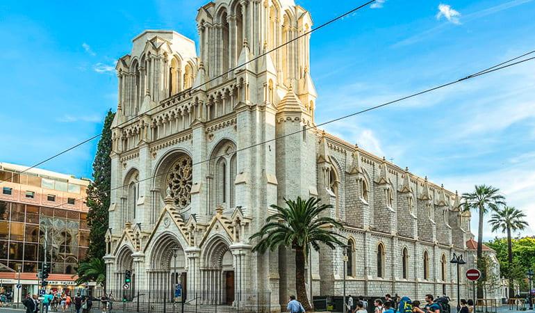 basilica de Notre Dame, un lugar que ver en Niza