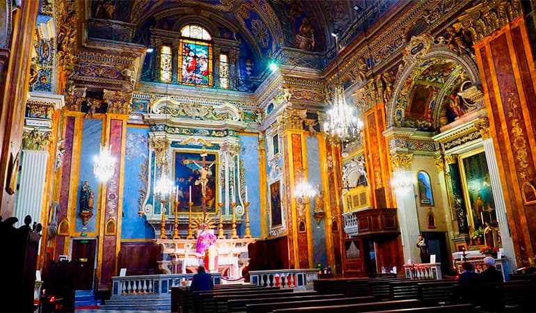 iglesia del Gesu de Niza