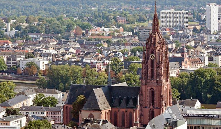 catedral de San Bartolomé, lugar que ver en Frankfurt