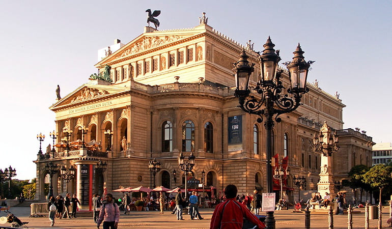 ópera Alte Oper de Frankfurt