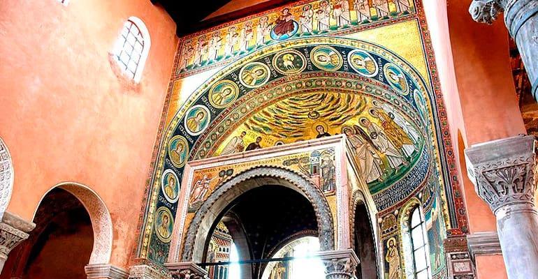 Basilica Eufrasica, lugar que ver en Porec
