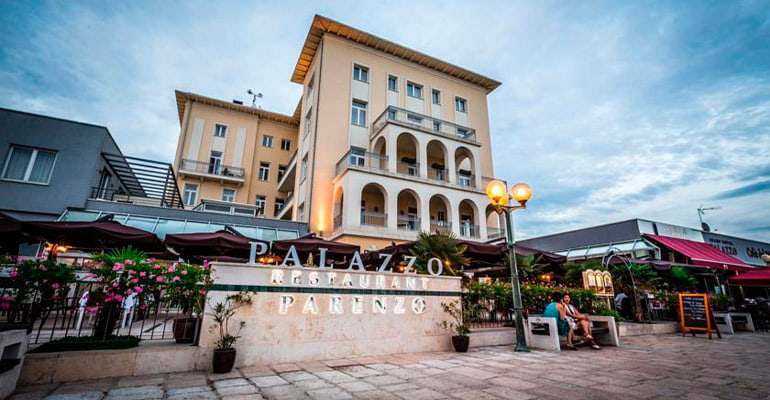 Hotel Palazzo en Porec