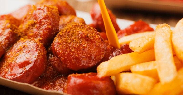 Currywurst, que comer en Alemania