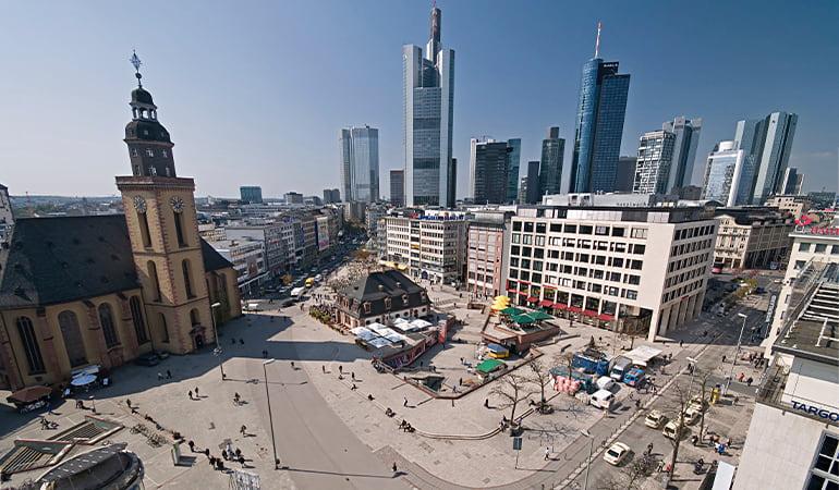 plaza Hauptwache