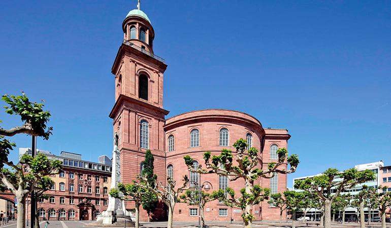 iglesia Paulskirche de Frankfurt