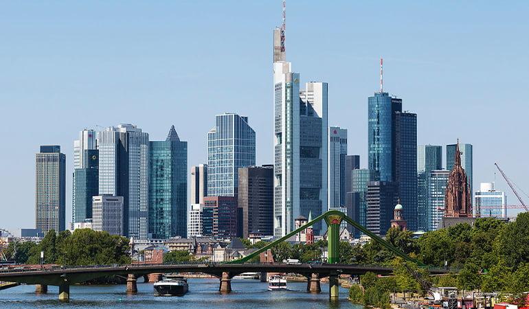 zona Mainhattan en Frankfurt