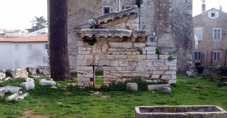 Templo de Neptuno Porec
