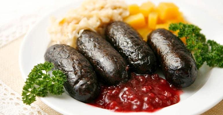 Verivorst, plato que comer en Estonia