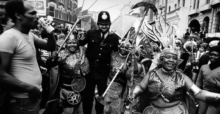 orígenes carnaval de notting hill