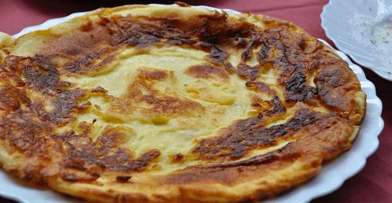 Funšterc, plato que comer en Eslovenia