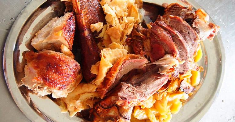 Mlinci, plato que comer en Croacia