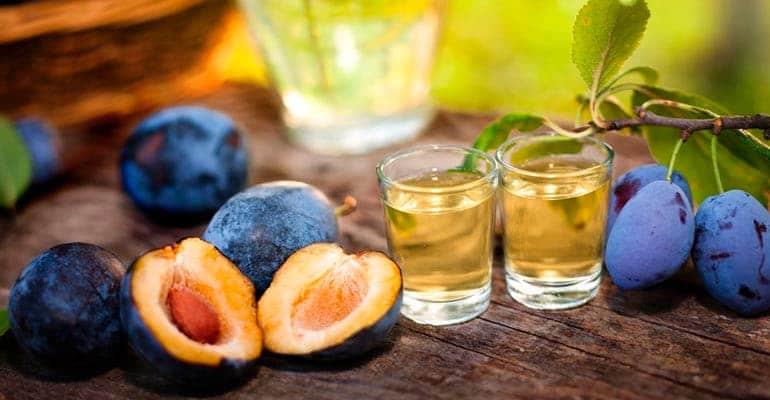 Rakija, algo que beber en Croacia