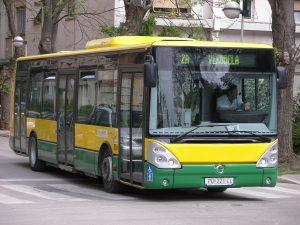 autobús de Pula
