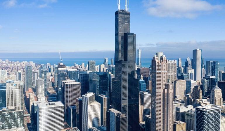 Torre Willis, uno de los lugares que ver en Chicago
