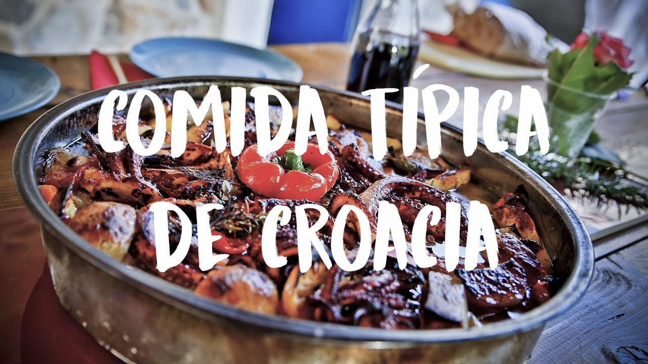 qué comer en Croacia