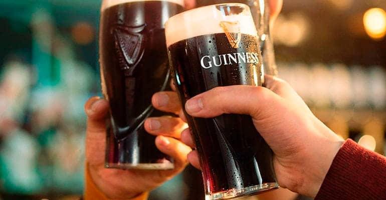 cerveza guinness, la que beber en Irlanda