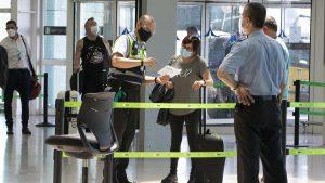 control sanitario aeropuerto