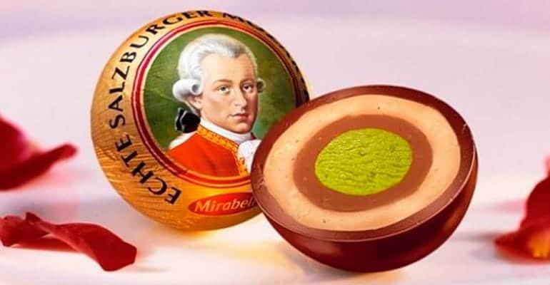 Mozartkugel, dulce que comer en Austria