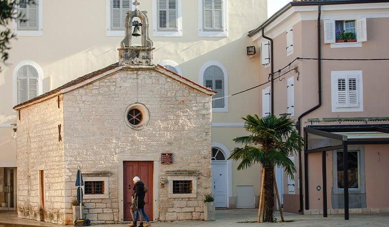 iglesia San Roche en Umag