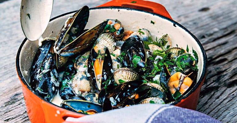 Cockles and mussels, plato que comer en Irlanda