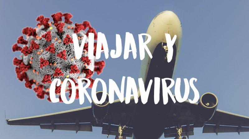 experiencia de viajar y Coronavirus