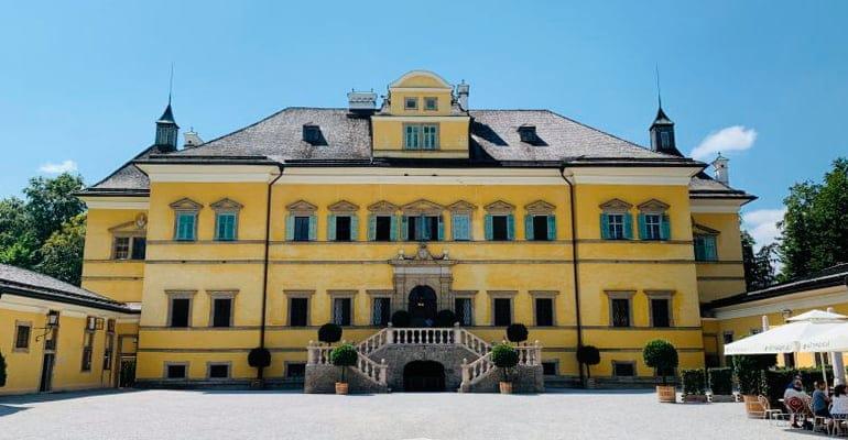 palacio de Hellbrunn en Salzburgo