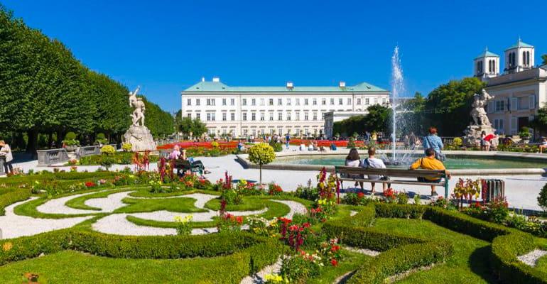 palacio Mirabell, lugar que ver en Salzburgo