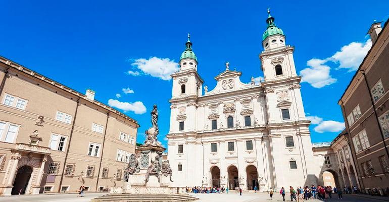 catedral, lugar que ver en Salzburgo