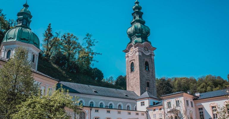 Iglesia de San Pedro en Salzburgo
