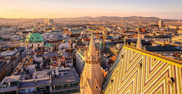 inner Stadt, zona donde alojarse en Viena