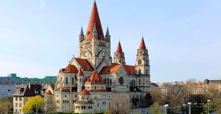 iglesia Franz-von-Assisi-Kirche de Viena