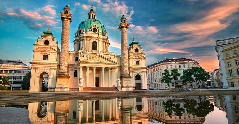 iglesia Karlskirche, lugar que ver en Viena