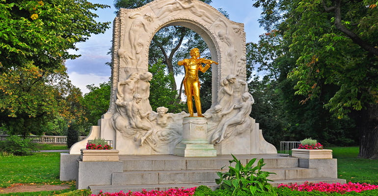 parque Stadtpark de Viena