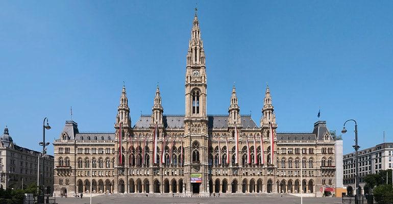 Rathaus ayuntamiento de Viena