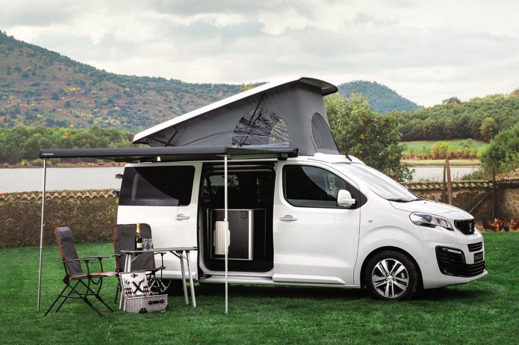 furgoneta camper Peugeot Traveller by Tinkervan
