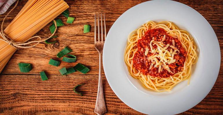 pasta que comer en Italia
