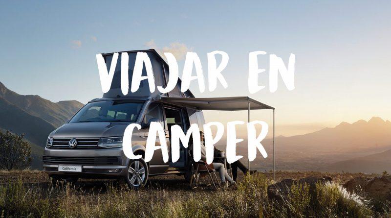 viajar en furgoneta camper