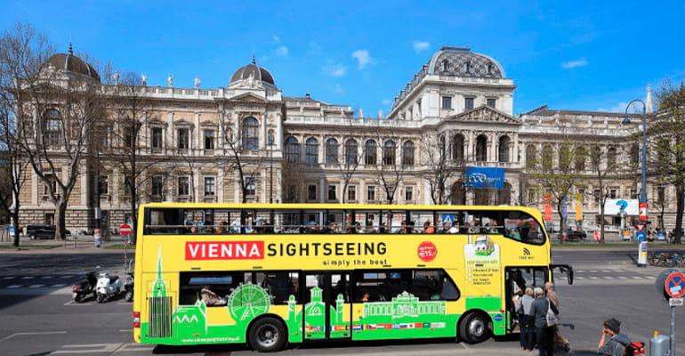 Autobús Vienna Sightseeing Tours para hacer rutas turísticas por Viena