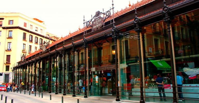 Mercado de San Miguel, lugar donde comer en madrid