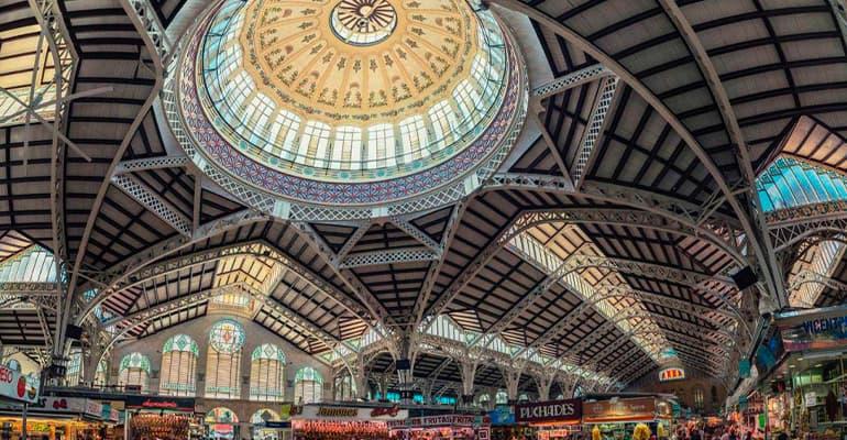 mercado central, lugar que ver en Valencia