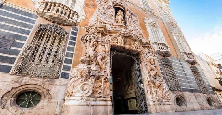 palacio del marqués de dos aguas, lugar que ver en Valencia