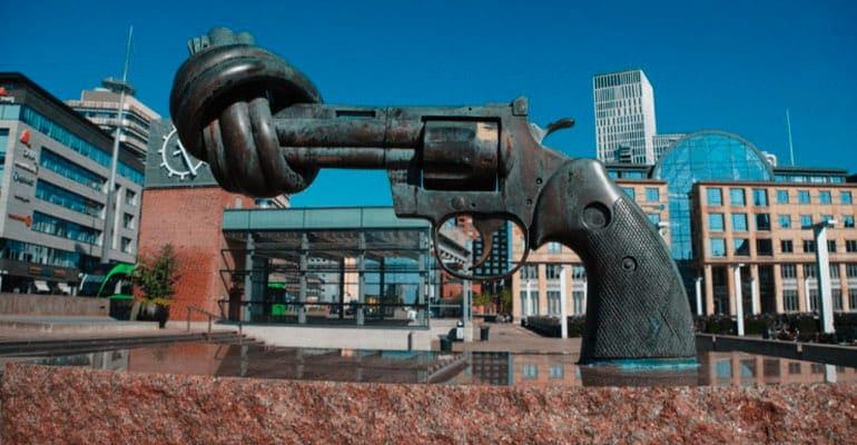 The Knotted Gun, monumento que ver en malmö