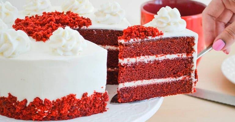 red velvet, tarta que comer en Reino Unido