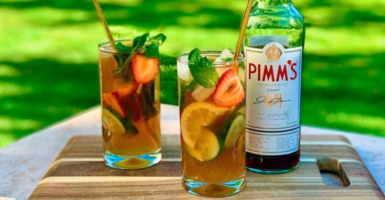 pimm's, bebida que beber en Inglaterra