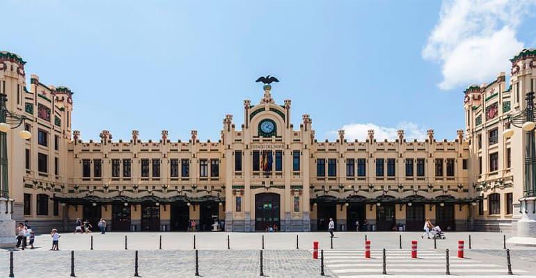 La estación del norte de Valencia
