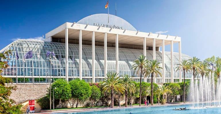 Palacio de la Música, lugar que ver en Valencia