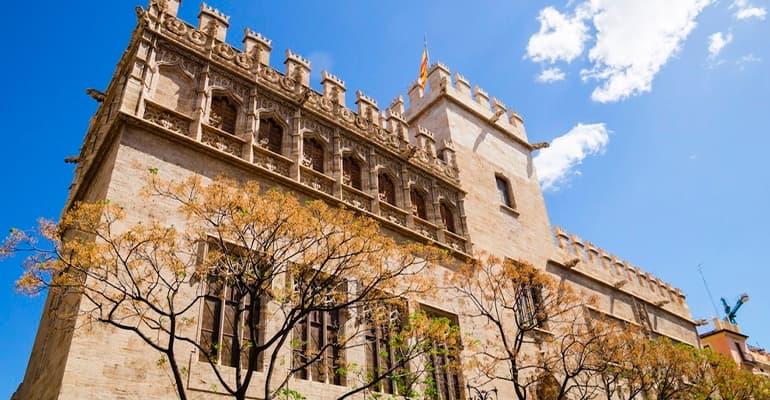 La lonja de la seda, lugar que ver en Valencia