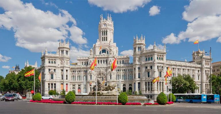 El Palacio de Cibeles de Madrid